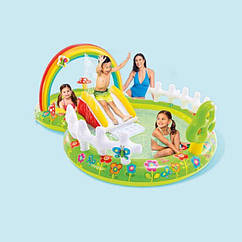 Водный надувной игровой центр Intex 57154 (290 x 180 x 104 см) Мой сад
