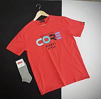 Мужская футболка с надписью на каждый день / Турецкая хлопковая футболка с идеальной посадкой