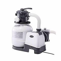Пісочний фільтруючий насос Intex 26646 (7900 л/годину, 23 кг) Krystal Clear