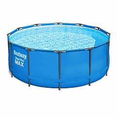 Круглий каркасний басейн 5614S (366х122 см) Steel Pro