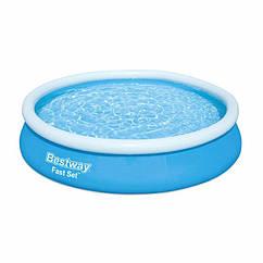 Надувной бассейн Bestway 57274 (366-76 см) Fast Set + фильтрующий насос