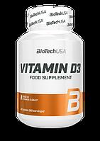 Вітамін Д3 Ostrovit Vitamin D3 2000IU 60 tabs.