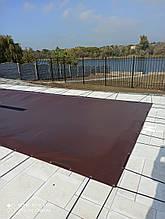 Тентовое всесезонное накрытие для бассейна из высококачественной  ПВХ ткани (Бельгия)