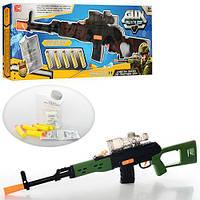 Игровая винтовка СВД с водяными шарами и мягкими пулями
