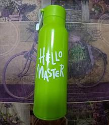 Бутылка для воды Hello master 360мл. 806 Салатовый