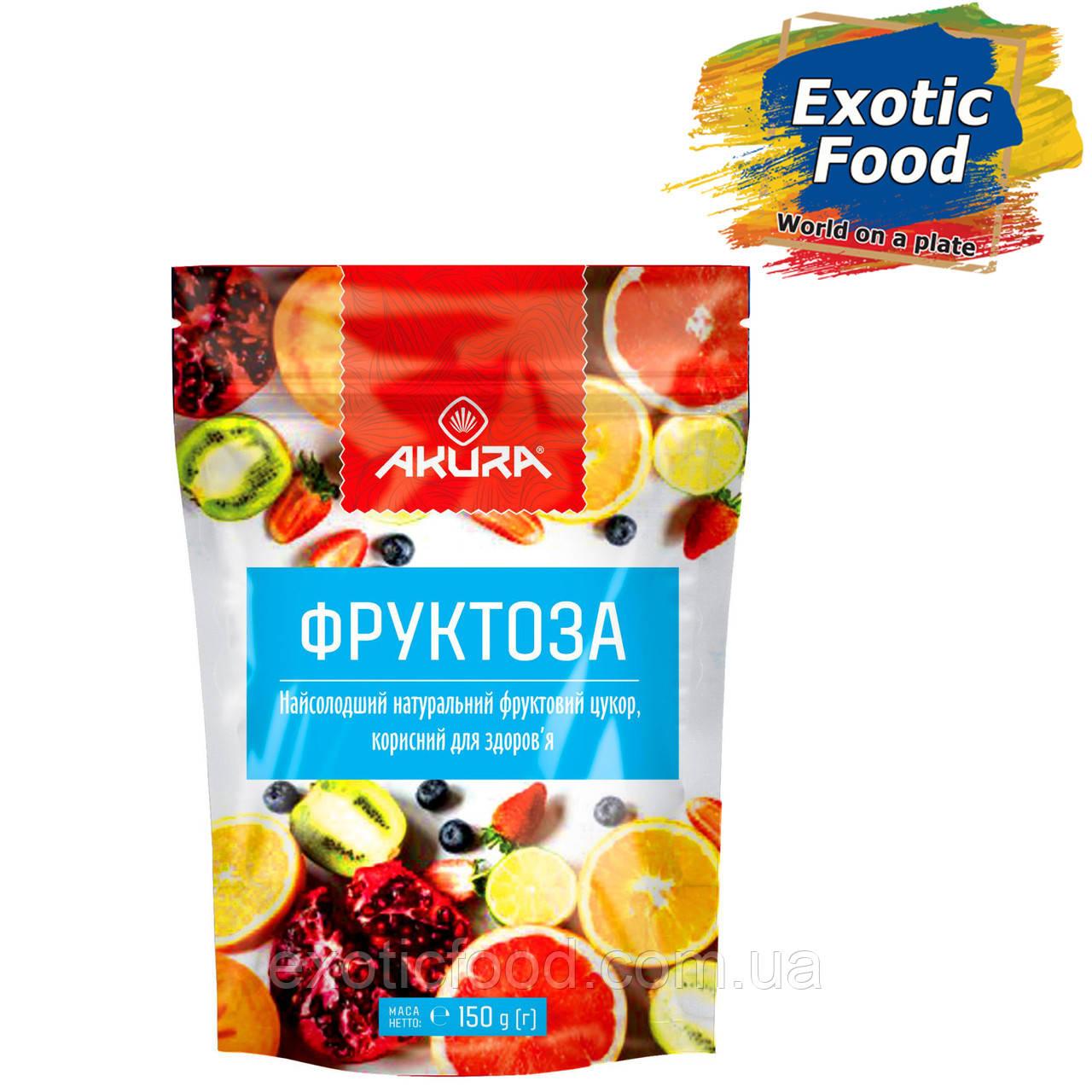 """Фруктоза 150 г ТМ """"AKURA"""""""