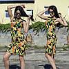 Женское пляжное платье до середины бедра
