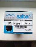 Amann Saba З № 150. колір 4000 ( ЧОРНИЙ). 10 000 м, фото 2