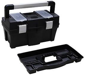 Ящик для инструмента Berg алюминиевые защелки 458 х 257 х 245 мм (52-547)