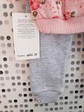 Трикотажний костюм для дівчинки 9-12 місяців Туреччина, фото 4
