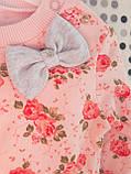 Трикотажний костюм для дівчинки 9-12 місяців Туреччина, фото 2