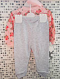 Трикотажний костюм для дівчинки 9-12 місяців Туреччина, фото 3