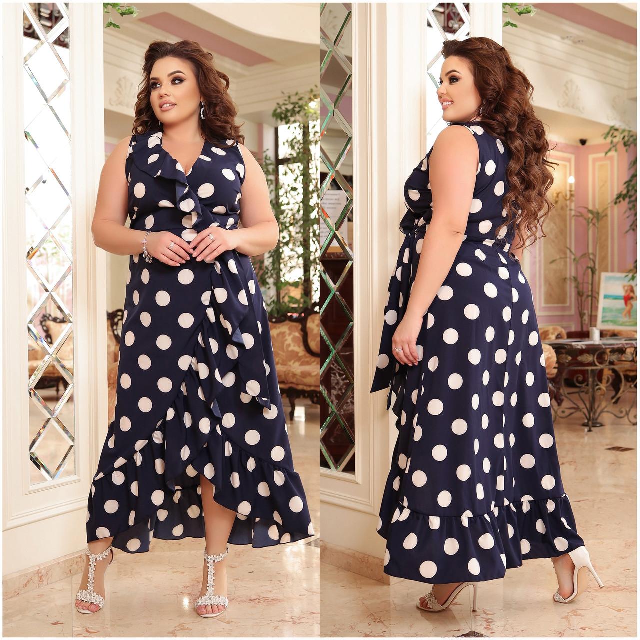 Плаття на запах з легкого софта в романтичному стилі тканина відмінно пропускає повітря