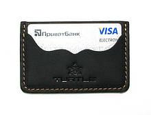 Визитница кармашек двухстороняя Turtle G9600J Черный, КОД: 1638856