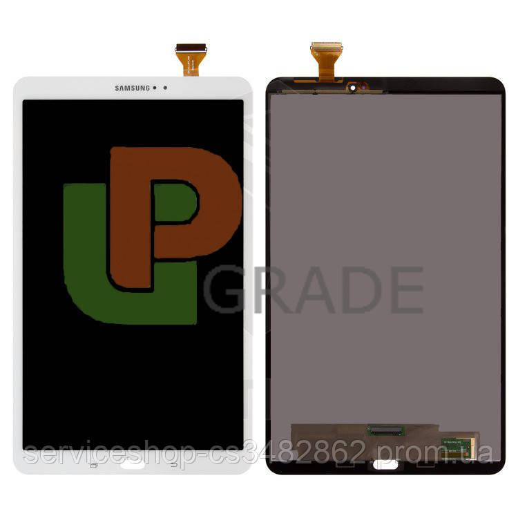 Дисплей Samsung T580 Galaxy Tab A 10.1 2016/T585 версия Wi-Fi/LTE тачскрин модуль белый Pearl White оригинал