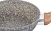 Сковорода Benson BN-530 (24 см) с антипригарным гранитным покрытием   сковородка Бенсон, сотейник Бэнсон, фото 4