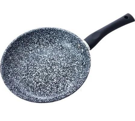 Сковорода Benson BN-567 с антипригарным мраморным покрытием (28*5.2см) индукция бакелитовая ручка   сковородка