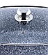Кастрюля Benson BN-349 (2.1 л) с гранитным антипригарным покрытием   казан с крышкой Бенсон   кастрюли Бэнсон, фото 5
