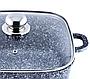 Кастрюля Benson BN-349 (2.1 л) с гранитным антипригарным покрытием   казан с крышкой Бенсон   кастрюли Бэнсон, фото 7