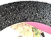 Сковорода Benson BN-543 (26 см) з кришкою, антипригарне гранітне покриття   сковорідка Бенсон, Бэнсон, фото 3