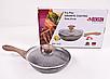 Сковорода Benson BN-543 (26 см) з кришкою, антипригарне гранітне покриття   сковорідка Бенсон, Бэнсон, фото 8
