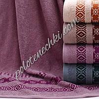 Махровое лицевое полотенце Три узора (6)
