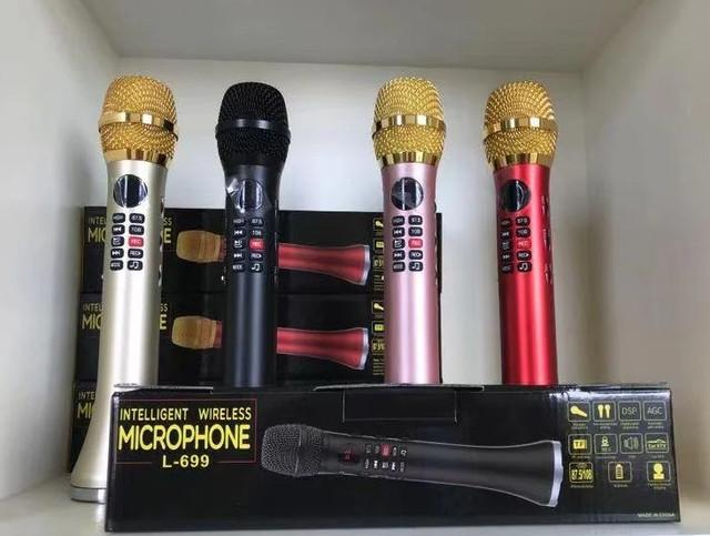 Бездротові мікрофони караоке оптом в роздріб, дроп