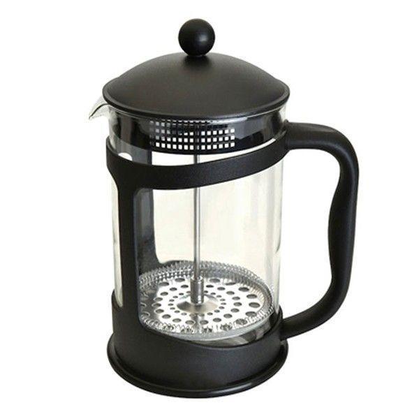 Френч-прес для заварювання Benson BN-136 (600 мл) скло + пластик   заварник Бенсон   заварювальний чайник
