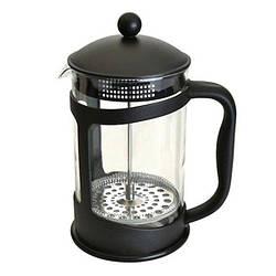 Френч-прес для заварювання Benson BN-136 (600 мл) скло + пластик | заварник Бенсон | заварювальний чайник