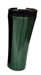Термокружка из нержавеющей стали Benson BN-063 (380 мл) зеленая   термочашка Бенсон   термос Бэнсон