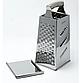 Терка з нержавіючої сталі 4 сторони Maestro MR-1605   шинкування Маестро   кухонні терка з нержавіючої сталі, фото 2