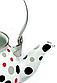 Емальований чайник з рухомою ручкою Benson BN-124 білий горошок (1,5 л)   чайник Бенсон, Бэнсон, фото 7