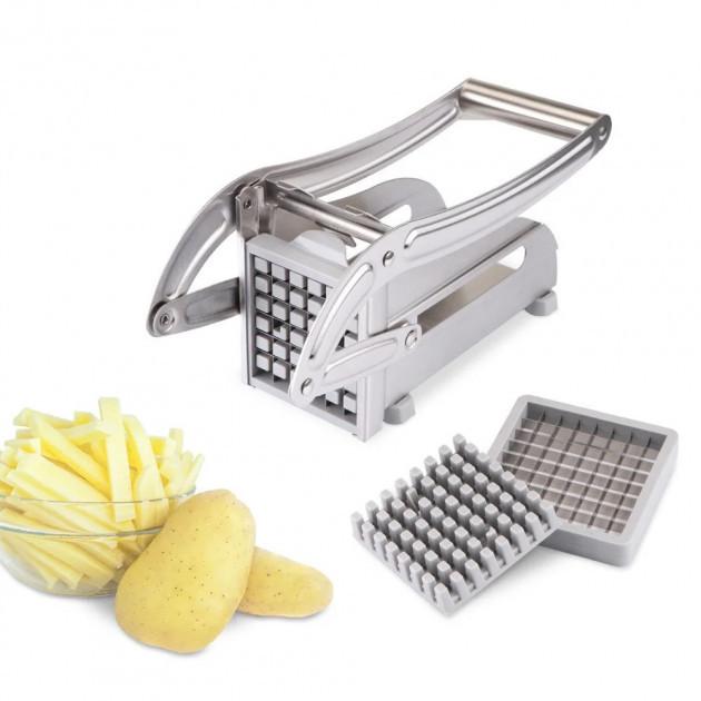 Картофелерезка Benson BN-179   Нарізка картоплі фрі з нержавіючої сталі   Машинка для нарізки картоплі