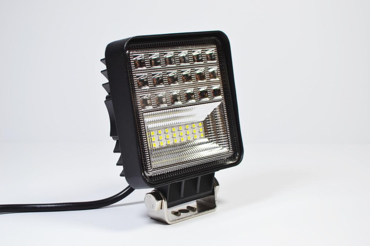 Светодиодная LED фара рабочая 126W