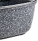 Гусятниця Benson BN-361 з мармуровим покриттям (3 л)   каструля з кришкою Бенсон, каструлі Бэнсон, фото 7