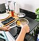 Набор посуды Benson BN-293 с мраморным покрытием (12 предметов) | кастрюля, сковорода с крышкой, сотейник, фото 6