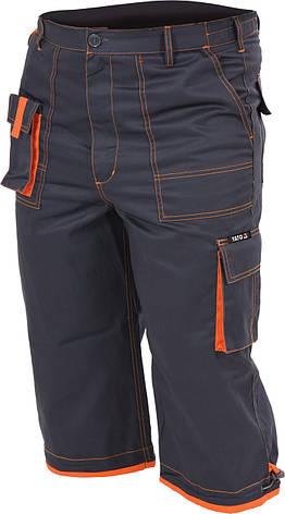 Робочі штани короткі YATO YT-80947 розмір XL, фото 2