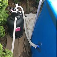 Как улучшить фильтрацию воды в сборных бассейнах Bestway и Intex