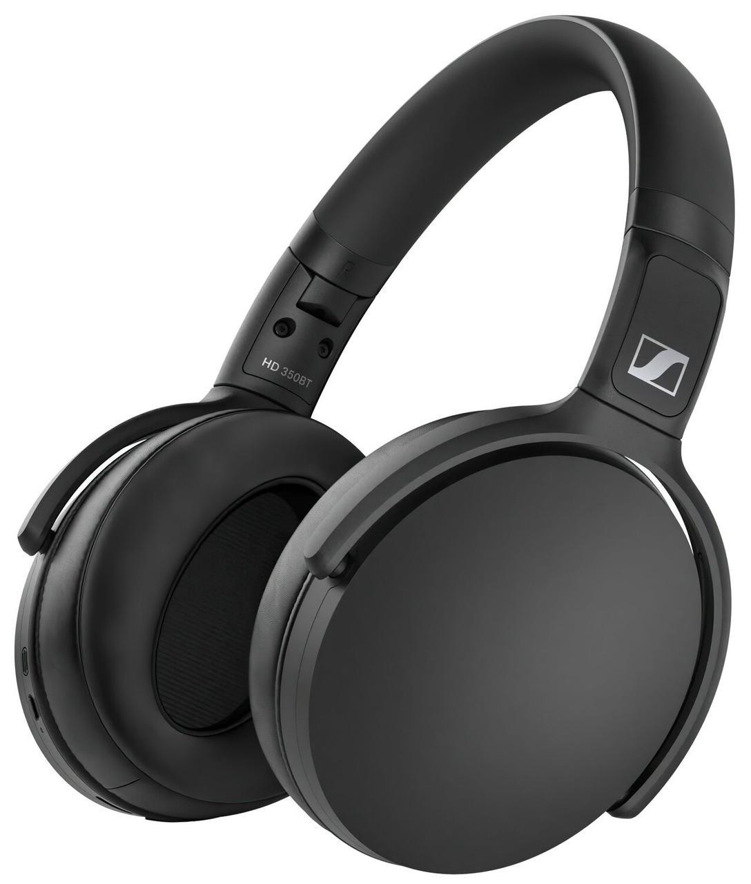 Навушники Sennheiser HD 350 BT Over-Ear Wireless Mic Black