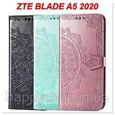 Чохол-книжка з візитнецею для ZTE Blade A5 2020