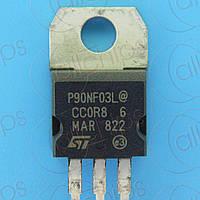 MOSFET N-канал 30В 90А 6.5мОм STM STP90NF03L TO220