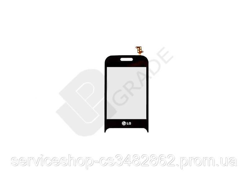 Тачскрін сенсор LG T320 Cookie/T325 чорний
