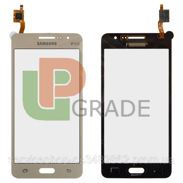 Тачскрін сенсор Samsung G530H Galaxy Grand Prime/G530F золотистий #BT541