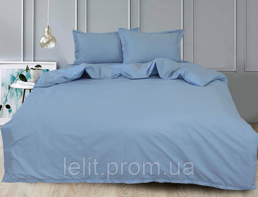 Евро комплект постельного белья Light Blue