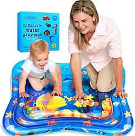 Водяной развивающий детский коврик AIR PRO inflatable water play mat