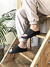 Мужские тапочки Adidas Yeezy Slide Black, фото 10