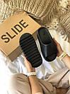 Мужские тапочки Adidas Yeezy Slide Black, фото 2