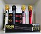 Мікрофон караоке бездротовий (золотий) із записом MicMagic L-699 DSP + AGC 20 Вт, фото 2