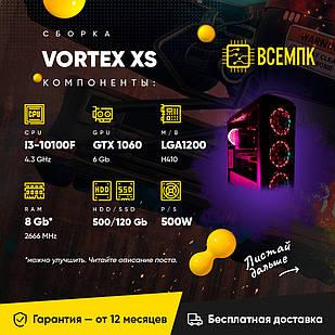 Vortex XS (I3 10100f/ Gtx 1060 6gb / 8gb ram