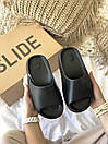 Жіночі тапочки Adidas Yeezy Slide Black, фото 7